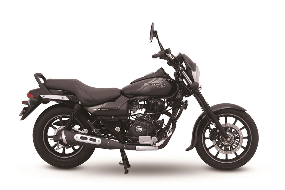 2019 Bajaj Avenger 160 ABS Black Color - 2019 Avenger ABS Ebony Black Color