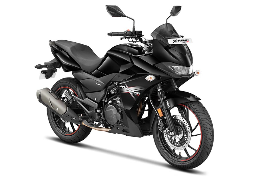 Hero Xtreme 200S Black color - New Xtreme 200S Black color option