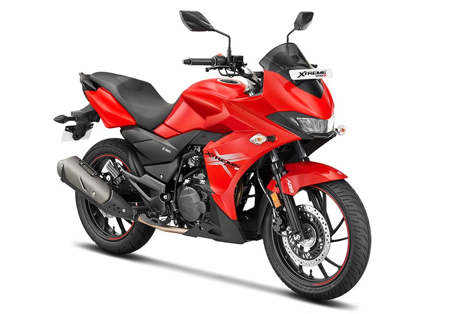 Hero Xtreme 200S Red Color. New Hero Xtreme 200S Sports Red Color option