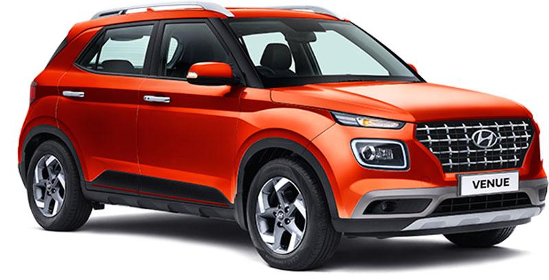 2020 Hyundai Venue Orange Color - All New Hyundai Venue Lava Orange Color option - New Venue Lava Orange - 2020 Venue Lava orange color