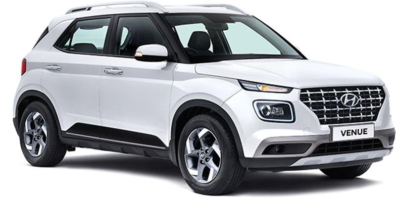 All New Hyundai Venue Polar White Color option. 2020 Hyundai Venue White Color (Polar White)  - New 2020 Venue White Color - 2020 Hyundai Venue Polar White Color