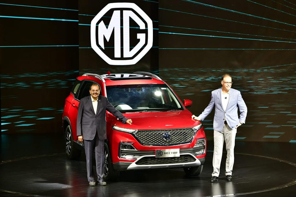 MG Hector Unveiled Officially - All New Hector official unveiling.