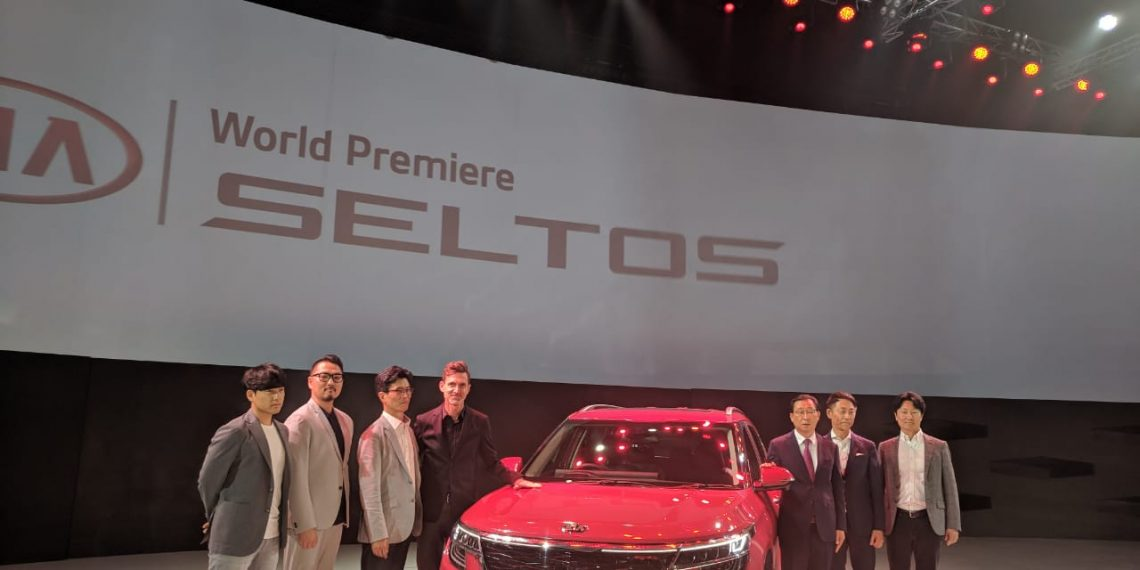 Kia Seltos Debuts in India - Gets 1 4 Turbo GDI Engine with 7-speed