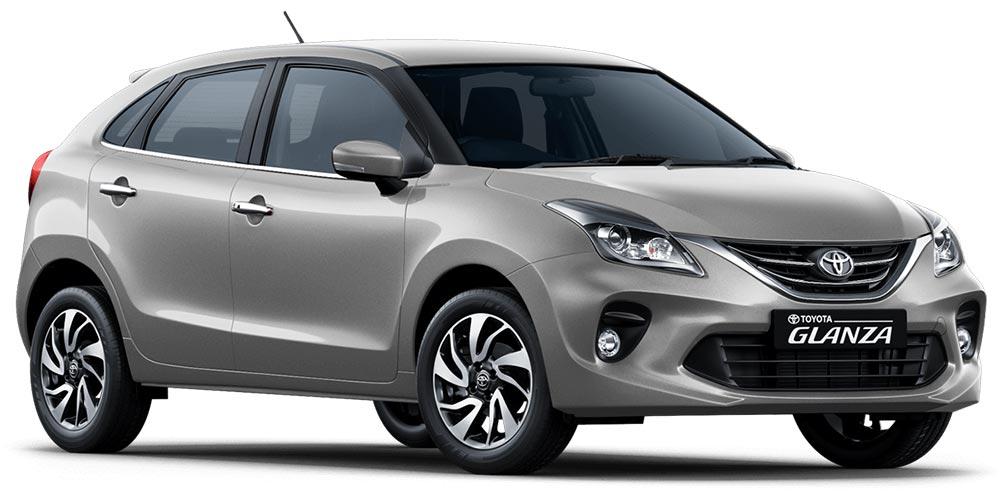 Toyota Glanza Enticing Silver Color - Toyota Glanza Silver Colour. New Glanza Silver
