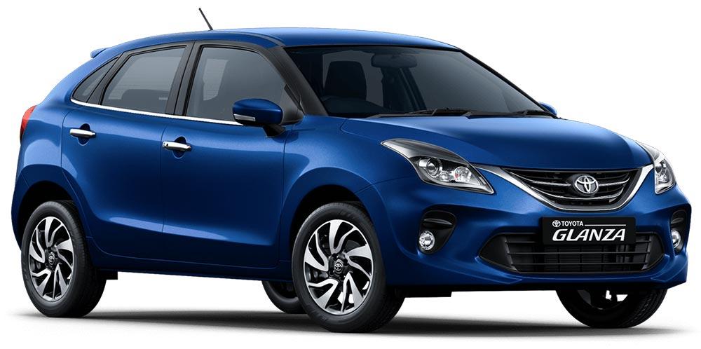 Toyota Glanza Insta Blue Color - New Toyota Glanza Blue Colour option