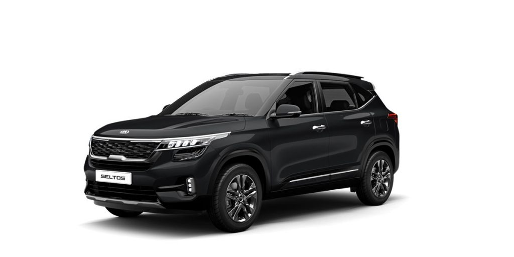 2020 Kia Seltos Black Color - New 2020 Kia Seltos Aurora Black Pearl Color option - Tech Line Black Color Seltos 2020 Model New