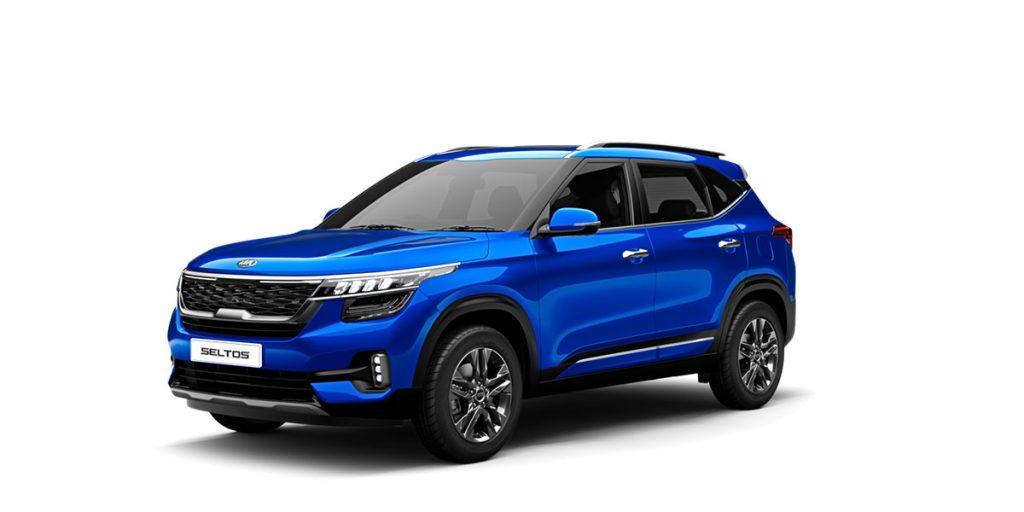 2020 Kia Seltos Blue Color Tech Line. Kia Seltos 2020 model Intelligency Blue Color variant in tech line - Seltos New 2020 model Blue Color