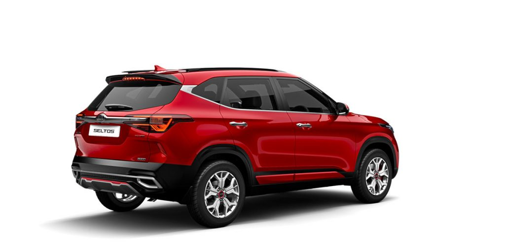 Kia Seltos Intense Red Color GT Line. Kia Seltos Red Color variant
