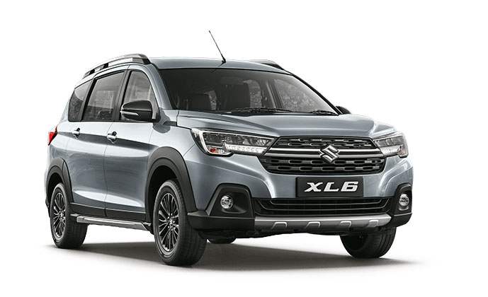 Maruti XL6 Silver Color Option - Maruti XL6 Premium Silver color option -