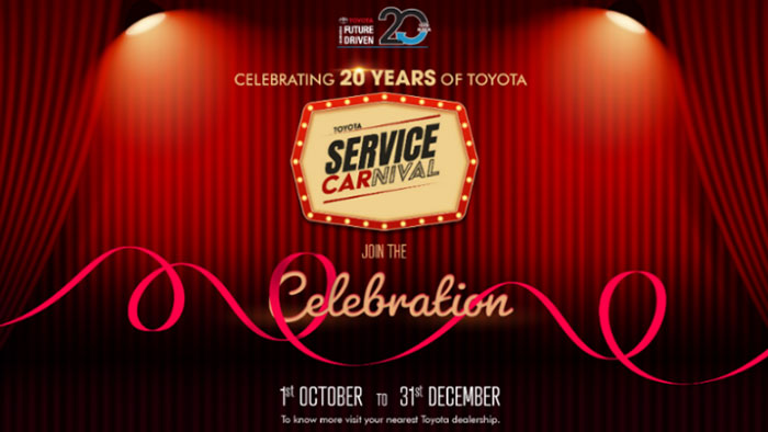 Toyota Service Carnival - Toyota India