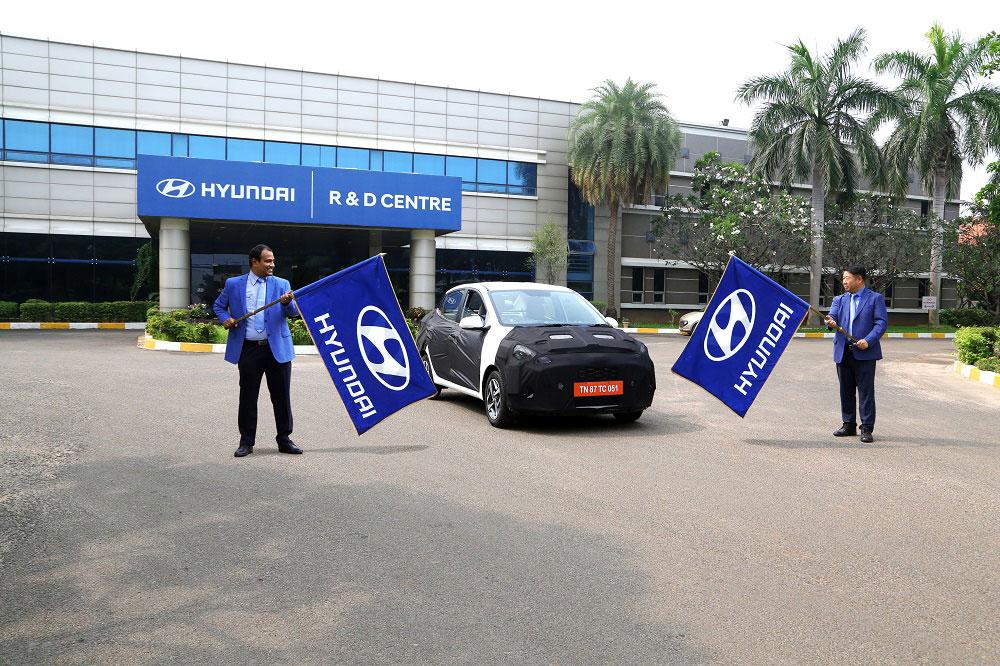 Upcoming Hyundai AURA Sedan BS6
