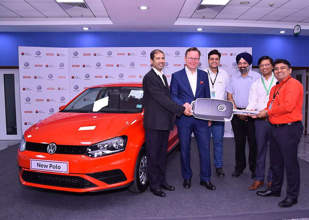 Volkswagen India - New Polo hatchback.