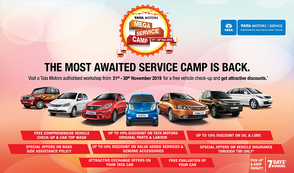 Tata Motors Mega Service Camp