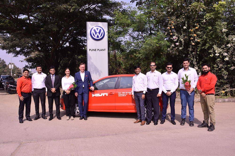 New Volkswagen Polo for Hilti -  Pune Plant