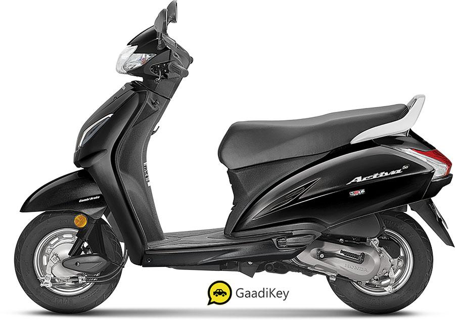 2020 Honda Activa 5G Black Color - New Activa 5G 2020 in Black color option