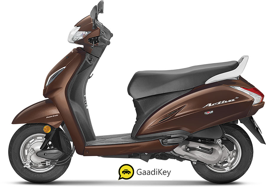 New 2020 Honda Activa 5G Brown color option  - 2020 Activa 5G Majestic brown color variant