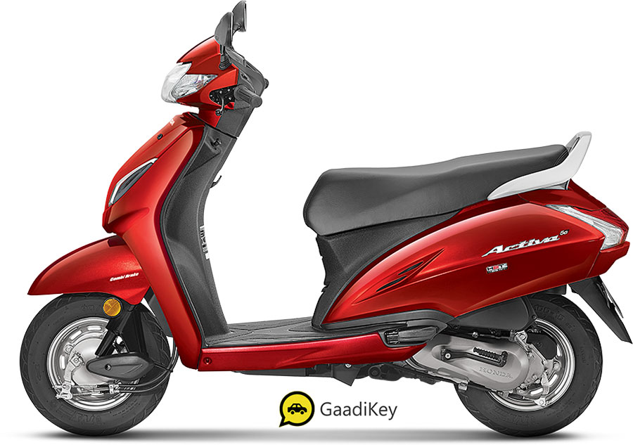 New 2020 Honda Activa 5G Spartan Red Color - 2020 Activa 5G Red color option