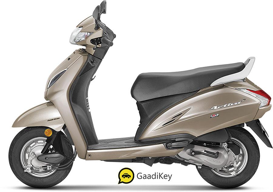 New 2020 Honda Activa 5G Selene Silver color variant - New 2020 Activa 5G Silver color photo