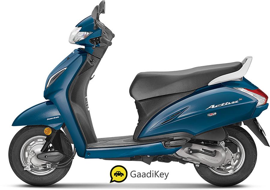 2020 Honda Activa 5G Trance Blue Color, New Activa 5G 2020 Blue color