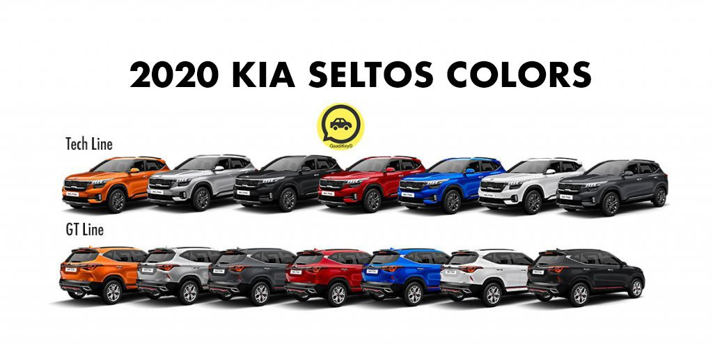 2020 Kia Seltos Colors - Seltos 2020 Color options - New Kia Seltos 2020 Model Colors = New Seltos 2020 Model Colors