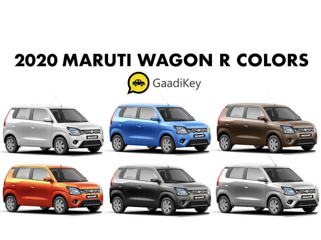 2020 Wagonr colors - 2020 Maruti WagonR Colors - New Maruti Wagon R Colours 2020 - All Colour options - New WagonR 2020 Color options