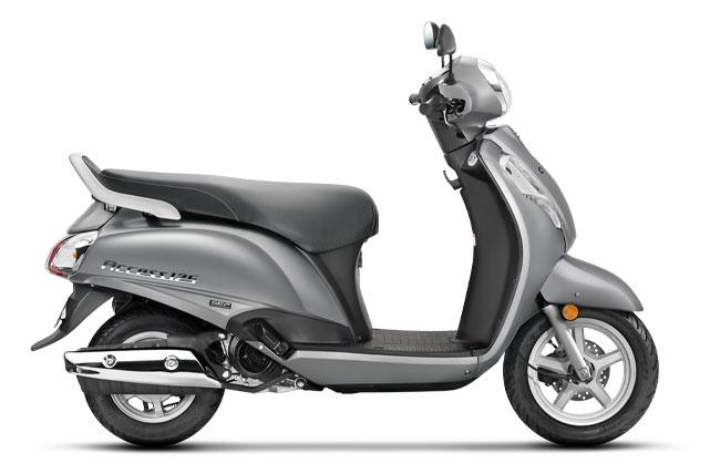 2020 Suzuki Access 125 Gray Color option - New Suzuki Access 125 2020 Model Gray Color option