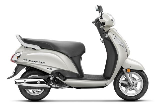 2020 Suzuki Access 125 Pearl Mirage White Color - Access 125 2020 Model Pearl Mirage White Colour