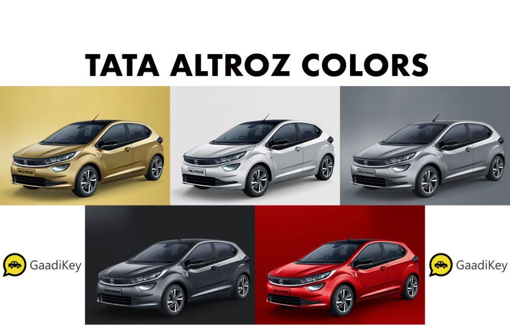 2020 Tata Altroz Colors - Tata Altroz all color options