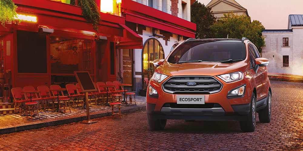 2020 Ford EcoSport BS6 Petrol and Diesel Launch