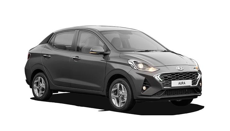 Hyundai Aura Grey Color