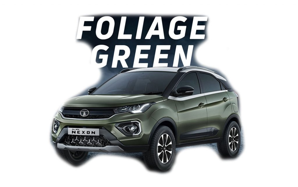 2020 Tata Nexon Green Color - New Nexon 2020 Foliage Green Color option