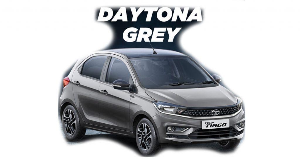 2020 Tata Tiago Grey Color - 2020 Tiago Daytona Grey Color option