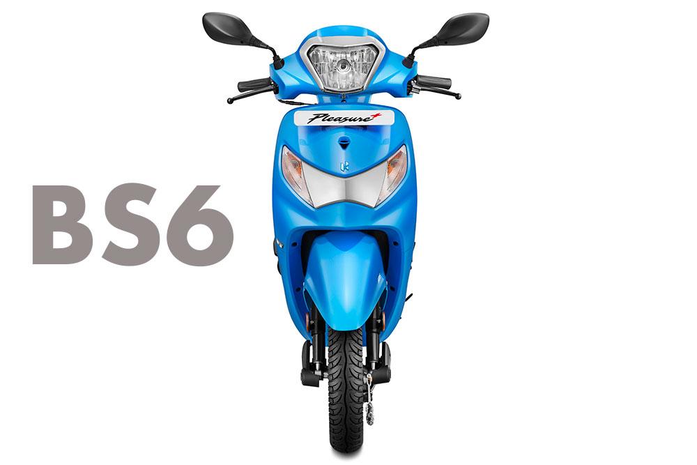 BS6 Hero Pleasure+ 110 - 2020 Hero Pleasure+ 110 scooter BS6 Model