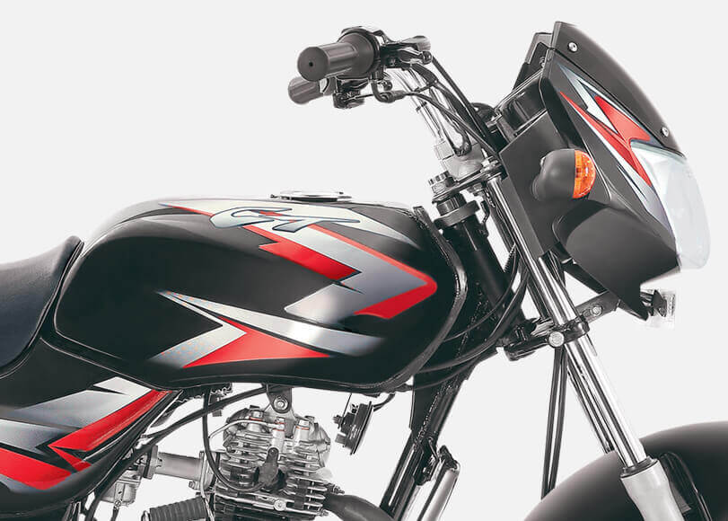 BS6 Bajaj CT Motorcycle. Bajaj BS6 Motorcycles.
