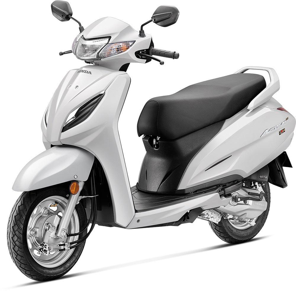 2020 Honda Activa 6G White Color - New Honda Activa 6G Pearl Precious White Color