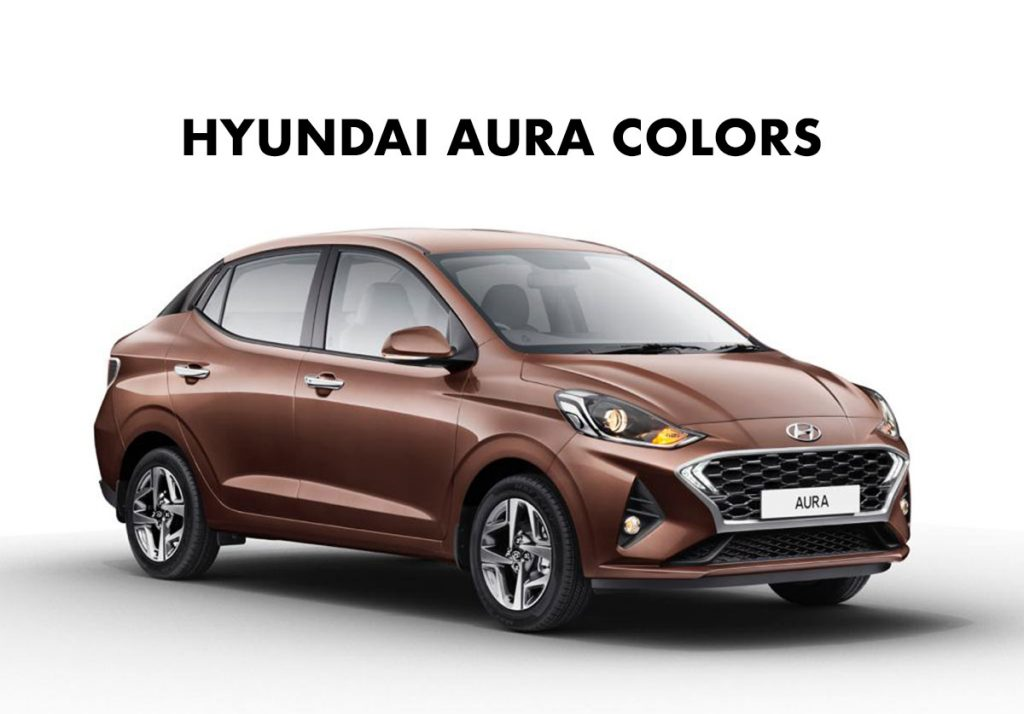 2020 Hyundai AURA Colors - Hyundai AURA All Colors 2020 Model.