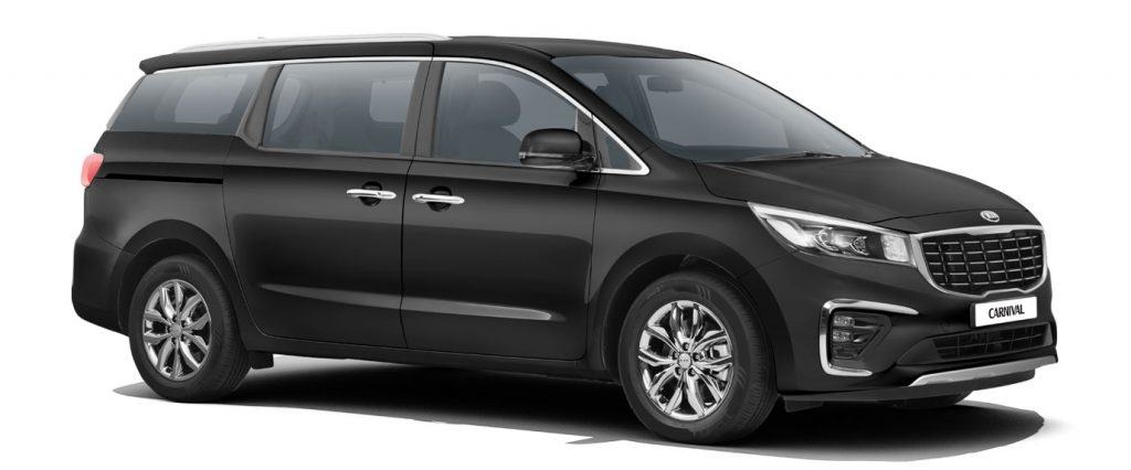 Kia Carnival Black Color - 2020 Kia Carnival Aurora Black Pearl Color option