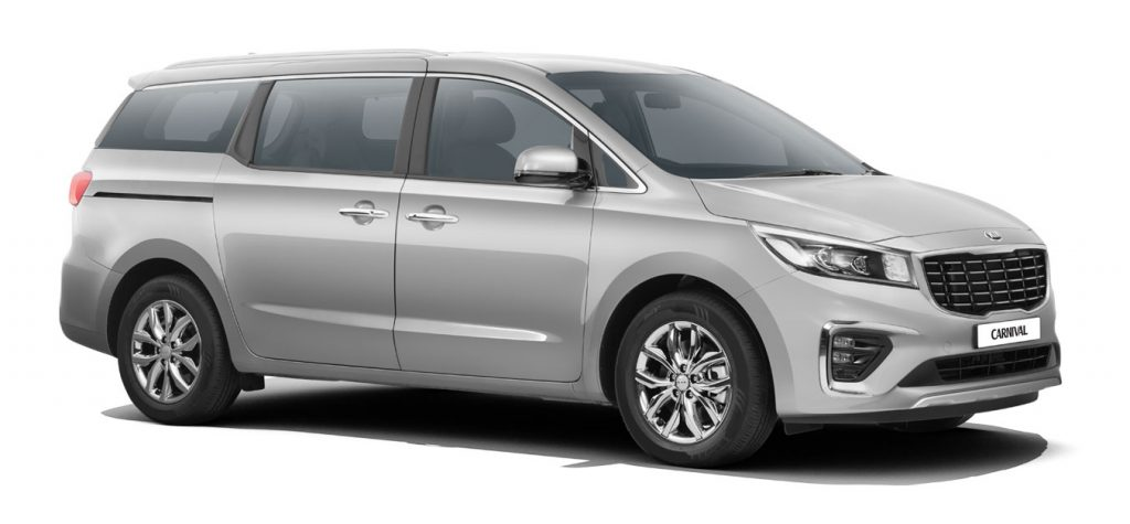 Kia Carnival Silver Color - 2020 Kia Carnival Steel Silver Color option