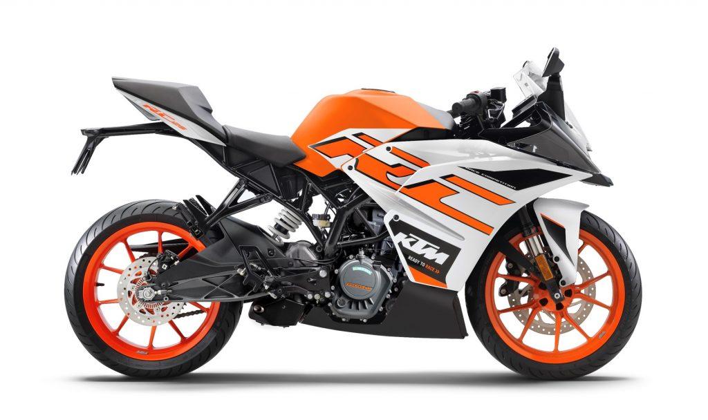 2020 KTM RC125 BS6 Range
