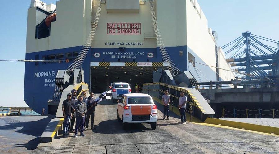 Maruti SPresso Exports