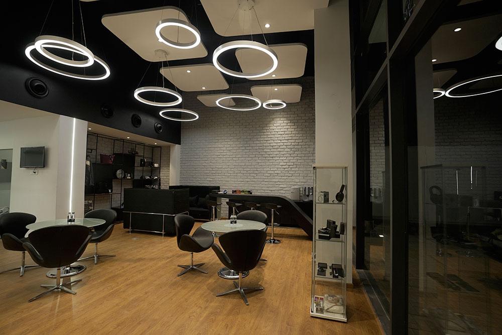 Mercedes-Benz Vizag showroom Interior