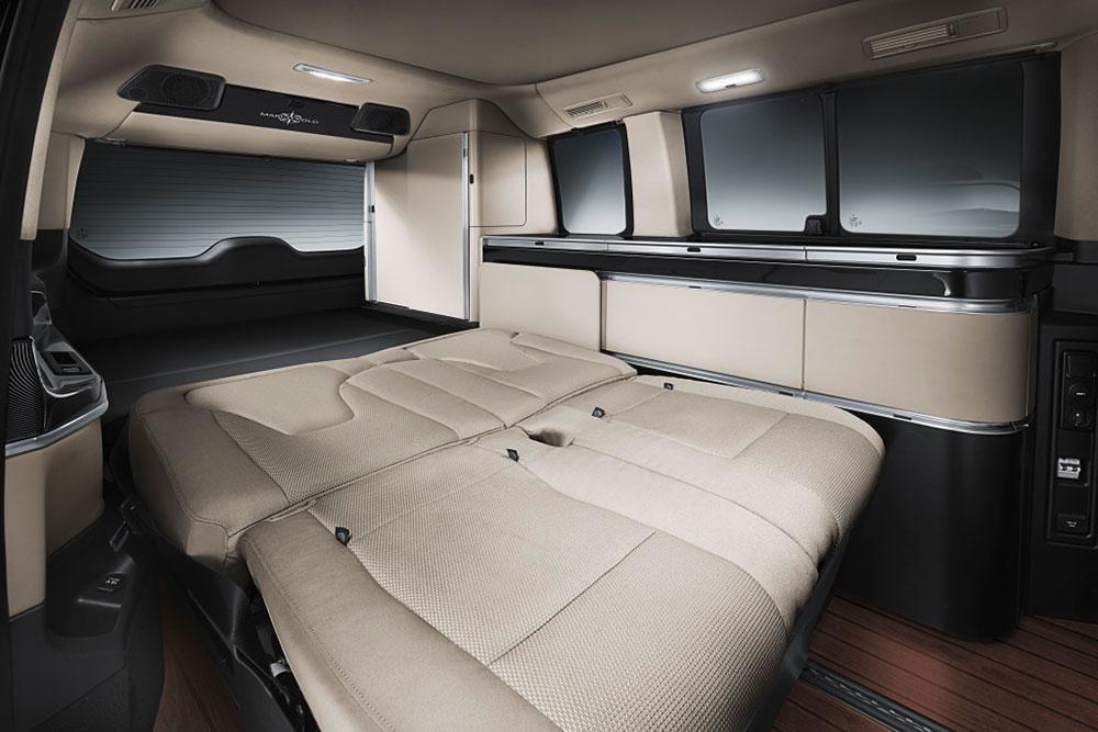 Mercedes-Benz VClass MorcoPolo Interiors Photo 2