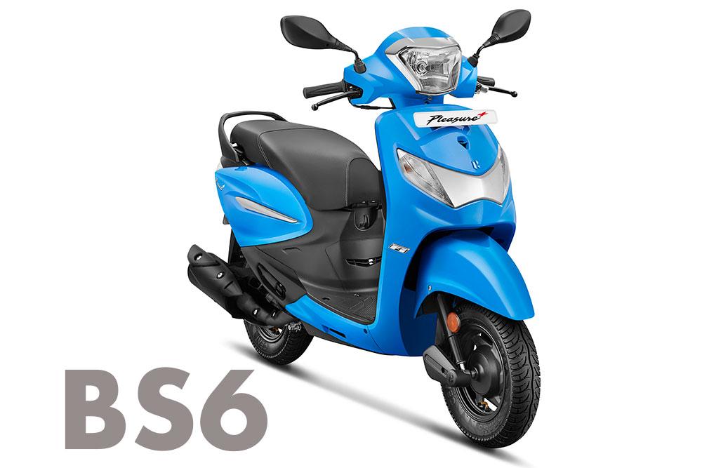 BS6 Hero Pleasure 110 2020 model