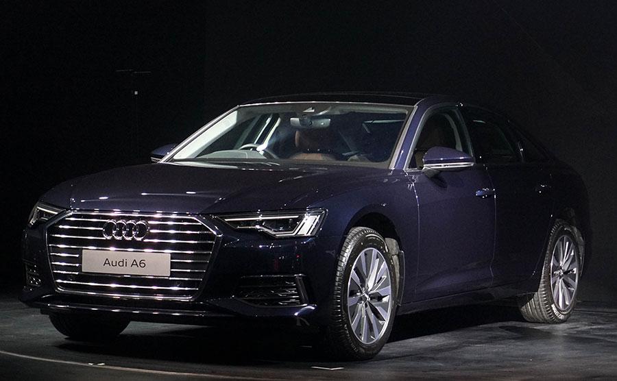 New Audi A6 - New Audi Showroom in Kolkata