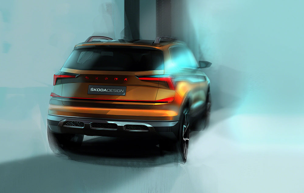 Skoda Vision IN - SUV Rear Design