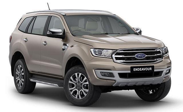 BS6 Ford Endeavour - 2020 Endeavour BS6 Model