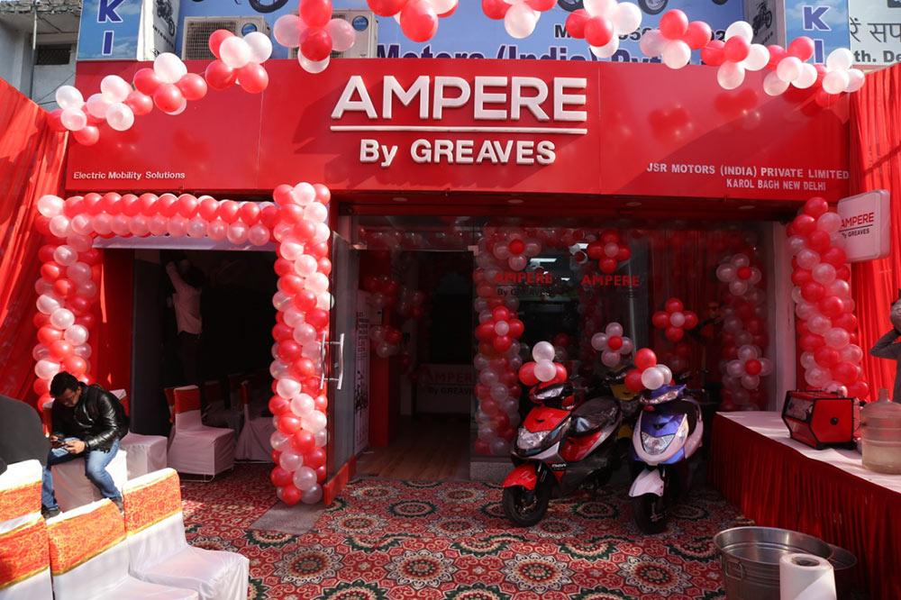 Ampere Greaves Dealership in Delhi NCR