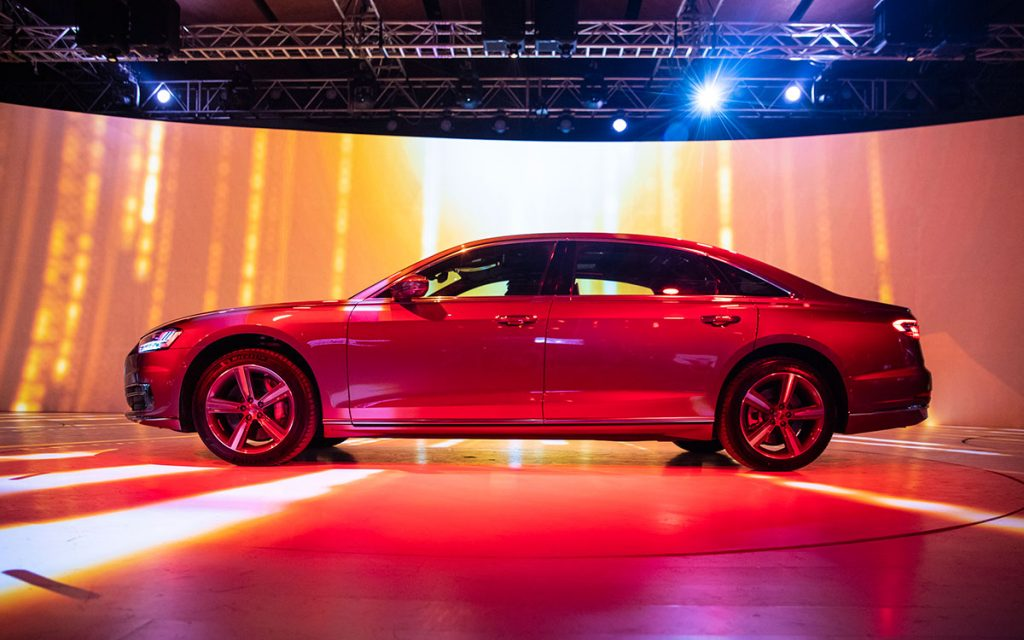 Audi A8 L Launch Photo