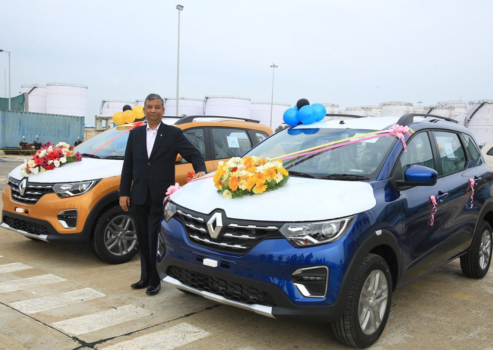Renault Triber launch in South Africa