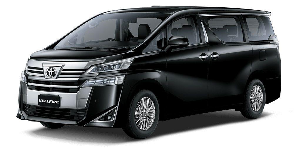 Toyota Vellfire Black Color